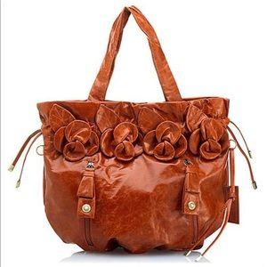 Cynthia Rowley Large Fleur Shine Handbag